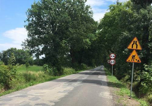 Droga Powiatowa Drogomyśl - Strumień. Fot: Archiwum UM Strumień
