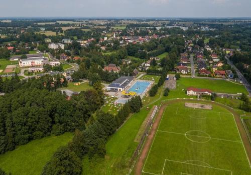 Widok na stadion w Strumieniu. Fot: archiwum UM Strumień