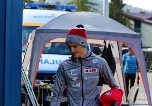 Tomasz Pilch plasuje się na 10. miejscu w klasyfikacji generalnej Letniego Pucharu Kontynentalnego. Fot. PZN/Anna Karczewska