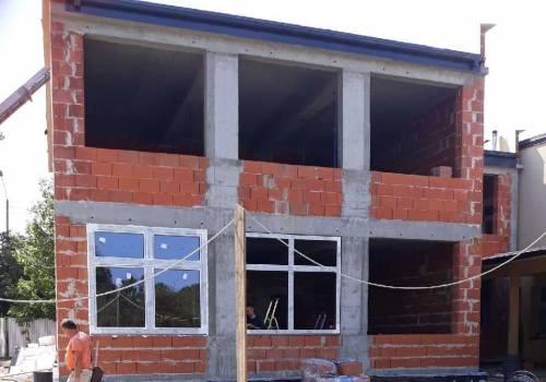 Trwa rozbudowa szkoły w Międzyrzeczu. Fot: UG Jasienica