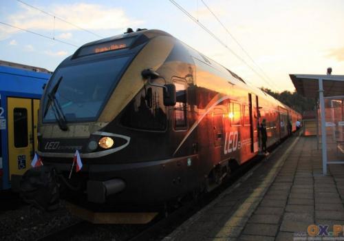 Leo express na stacji w Zebrzydowicach. Fot: PL