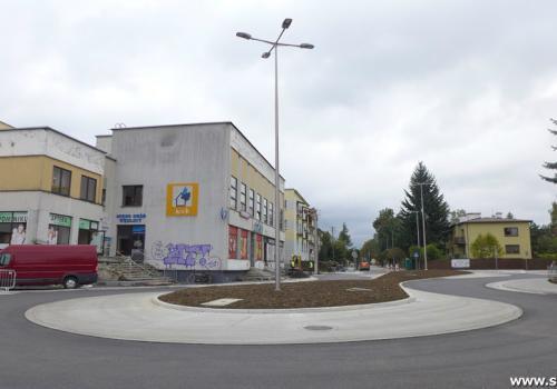 Biszkoptowe rondo otwarte Fot: Skoczow.pl