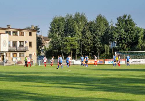 Jedno ze spotkań zostanie rozegrane na Stadionie Miejskim w Skoczowie, fot. Bartłomiej Kukucz