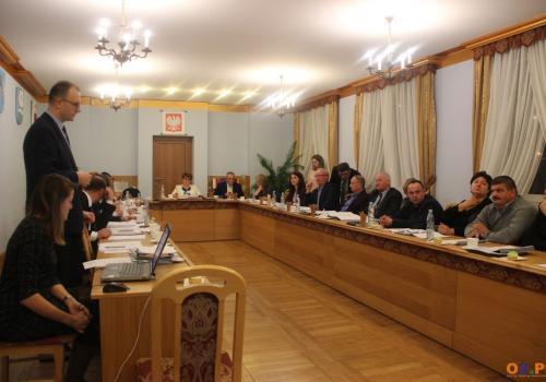 Ostatnia sesja Rady Hażlach kadencji 2014-2018/ fot. MSZ