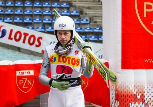 Zniszczoł, dzięki dobrym wynikom w Lillehammer oraz Ruce, wywalczył siódme miejsce startowe dla Polski podczas najbliższego Turnieju Czterech Skoczni, fot. Bartłomiej Kukucz