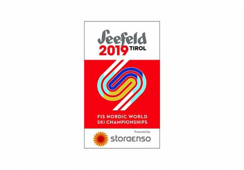 Logo Mistrzostw Świata w narciarstwie klasycznym w Seefeld