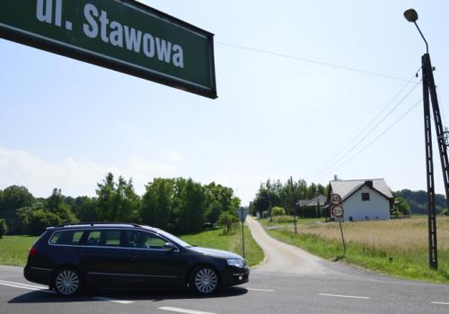 śród remontowanych w tym roku dróg będzie też ul. Stawowa w Rudzicy. Fot UG Jasienica