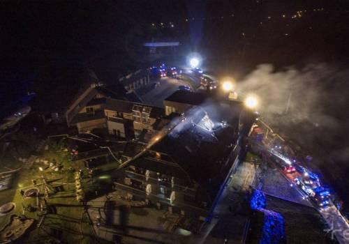 przypominamy, jak wyglądała akcja gaśnicza w nocy z 26 na 27 czerwca