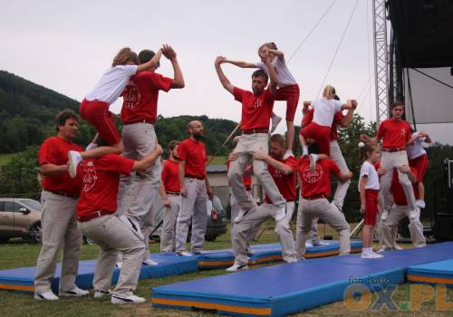 Pokazy wędryńskich Gimnastów zawsze są bardzo widowiskowe, fot. indi