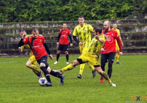 Piast prowadził już 3:0 z Pruchną, ale goście doprowadzili do remisu, fot. Grzegorz Borus