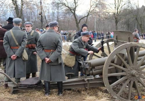Inscenizacja Bitwy pod Skoczowem. Fot: Bartłomiej Kukuc/arc.ox.pl