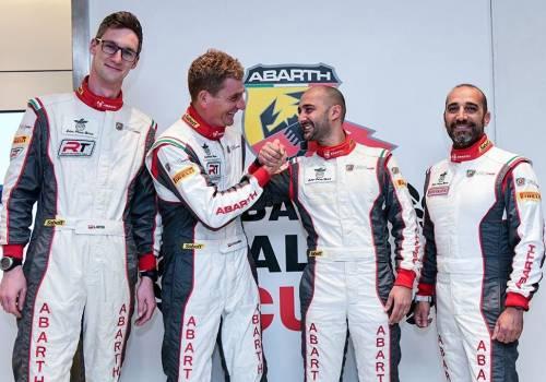 Od lewej: Łukasz Sitek, Dariusz Poloński, Andrea Nucita, Bernardo di Caro / fot. mat. pras.