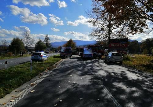 Zdjęcie poglądowe/ wypadek na DW941 w Ustoniu/ fot. arc.ox.pl
