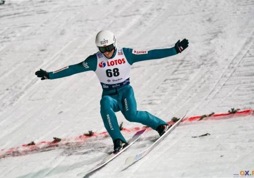 Piotr Żyła zajmuje 7. miejsce w klasyfikacji generalnej 68. Turnieju Czterech Skoczni, fot. Bartłomiej Kukucz