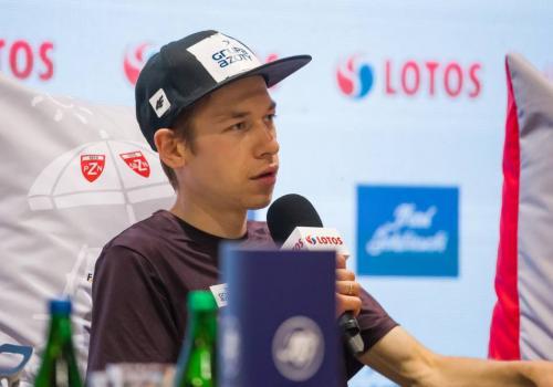 Aleksander Zniszczoł jest sklasyfikowany najwyżej spośród Polaków w klasyfikacji generalnej Pucharu Kontynentalnego, fot. Bartłomiej Kukucz