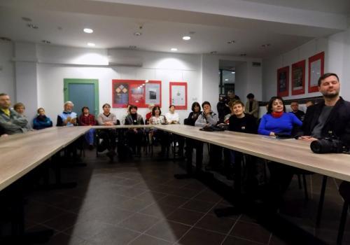 Spotkanie zgromadziło szeroką publiczność / fot. KR/ox.pl