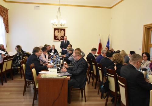 Na wniosek wójta Sylwii Cieślar goleszowscy radni podczas lutowej sesji powołali do życia Młodzieżową Radę Gminy Goleszów, fot. K. Grzybek