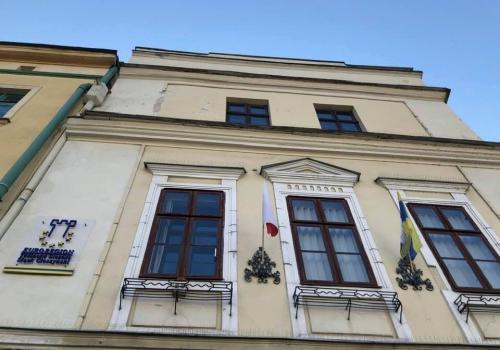 Siedziba euroregionu mieści się w kamienicy na Rynku 18 w Cieszynie. Fot. mat. pras.