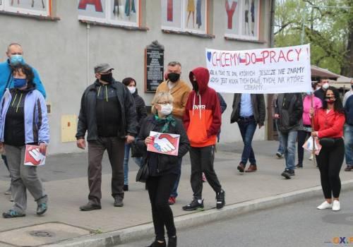 Cieszyński protest z 25.04.2020 /fot. arc.ox.pl