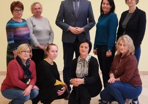 Oprócz Wójta w Hażlachu wszystkie kierownicze funkcje pełnią kobiety/ zdjęcie udostępnione przez Grzegorza Sikorskiego