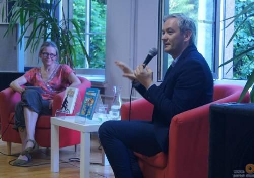 Robert Biedroń w cieszyńskiej Krytyce Politycznej w 2018 roku. Fot. JŚ/Ox.pl