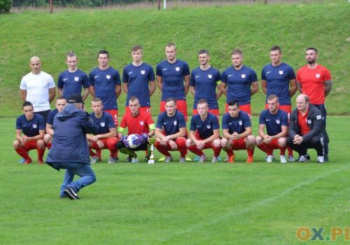 Z awansu do II rundy radowali się piłkarze z Istebnej, fot. Piotr Górecki