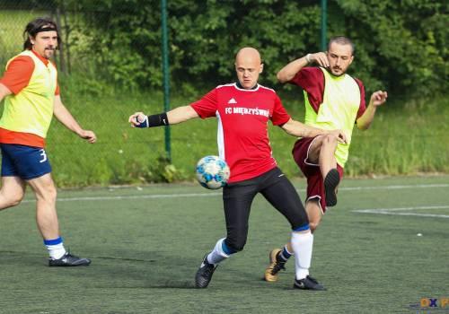 Leszek Krajewski (FC Międzyświeć) zdobył pięć bramek w tegorocznej edycji GLS, fot. Bartłomiej Kukucz