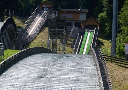 """Skocznia """"Skalite"""" w Szczyrku. Fot. KR/ox.pl"""
