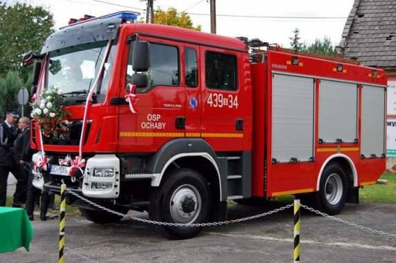 zdjęcie poglądowa/ fot. OSP Ochaby