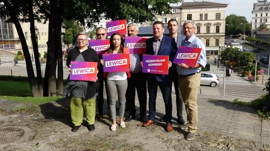Od lewej: Agnieszka Lamek-Kochanowska, Czesław Gluza, Katarzyna Gasparska, Leszek Czylok, Przemysław Koperski, Paweł Miech, Michał Brudny / fot. mat. pras.