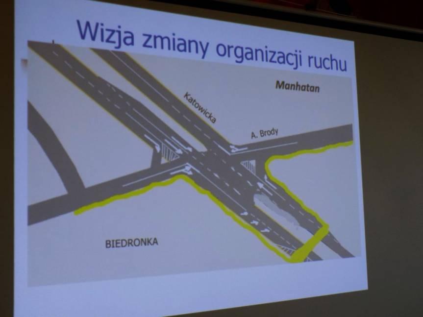 Wizualizacja zmiany organizacji ruchu na skrzyżowaniu / fot. KR/ox.pl