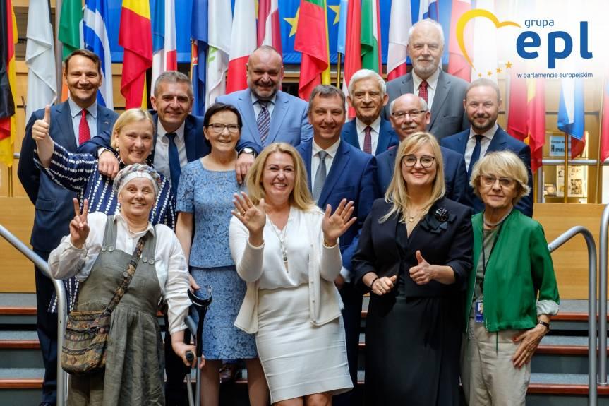 Fot. 4 Delegacja PO należy do grupy Grupy Europejskiej Partii Ludowej w Parlamencie Europejskim, Strasbourg, Parlament Europejski, fot. © EPPGroup
