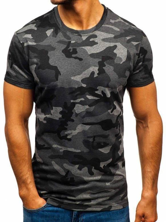 Koszulka męska moro