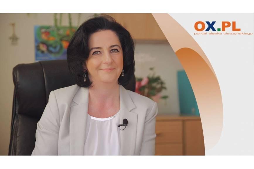 Gość OX.pl - Katarzyna Gładczak  - Dyrektor SP nr 2 w Cieszynie