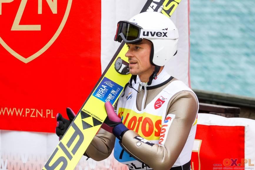 Piotr Żyła zajmuje w klasyfikacji generalnej LGP trzecie miejsce, fot. Bartłomiej Kukucz