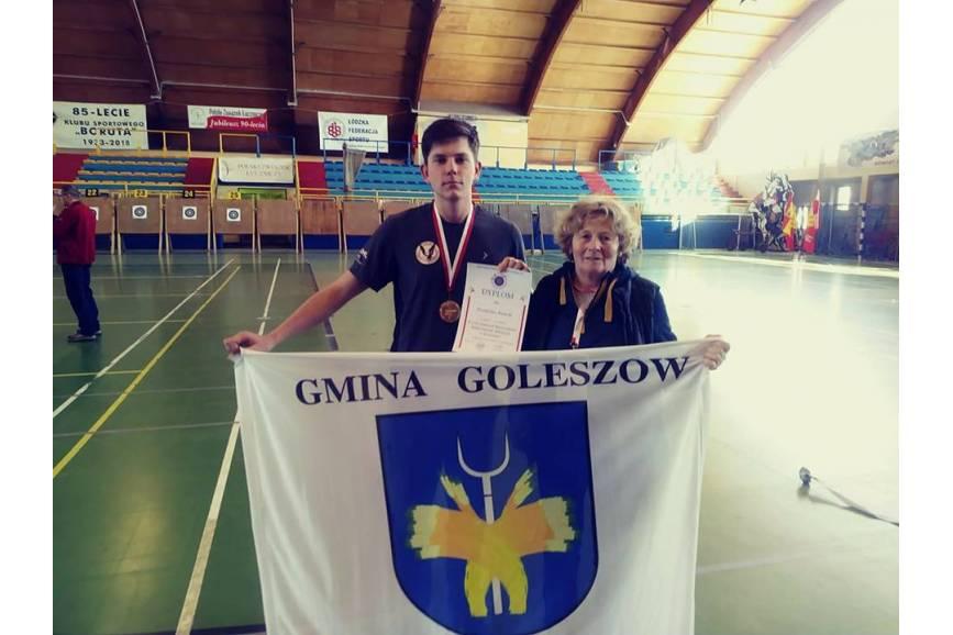 Przemysław Konecki i Anna Stanieczek / fot. z archiwum LUKS Orlik Goleszów