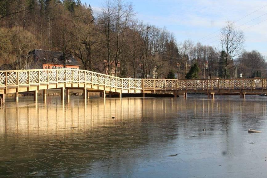 staw na Jonidle / źródło: profil facebookowy miasta Wisła
