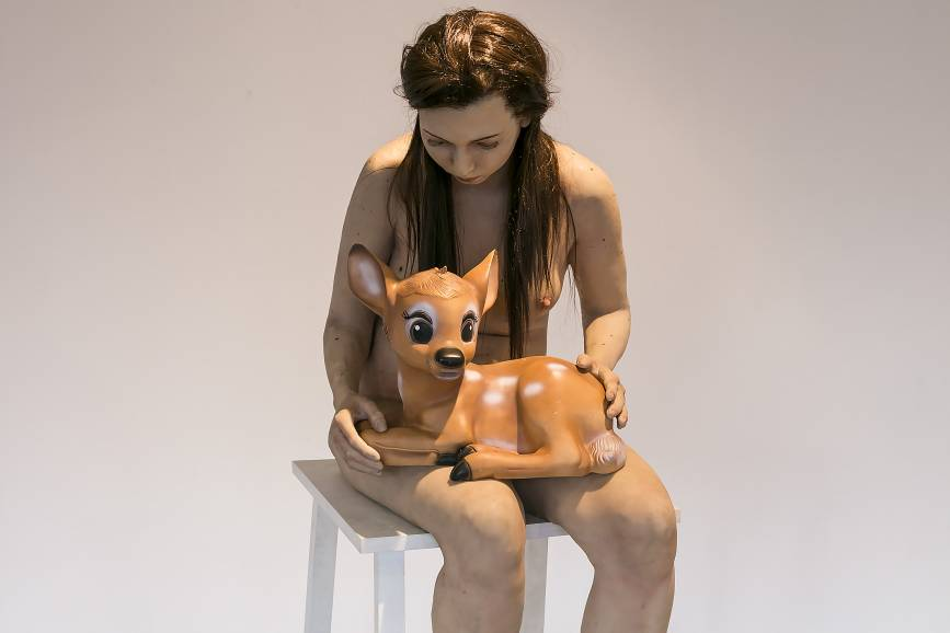 Rzeźba: Michalina Bigaj, Kochając naturę. Diana. Fot: mat.pras.