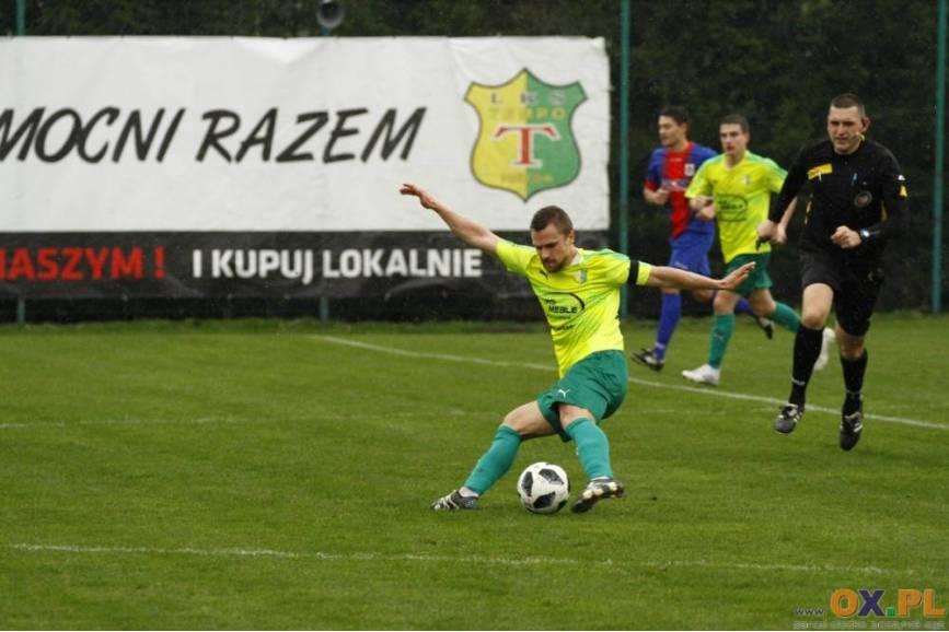 Tempo wygrało drugie spotkanie z rzędu - tym razem z Kończycami Małymi, fot. Grzegorz Borus