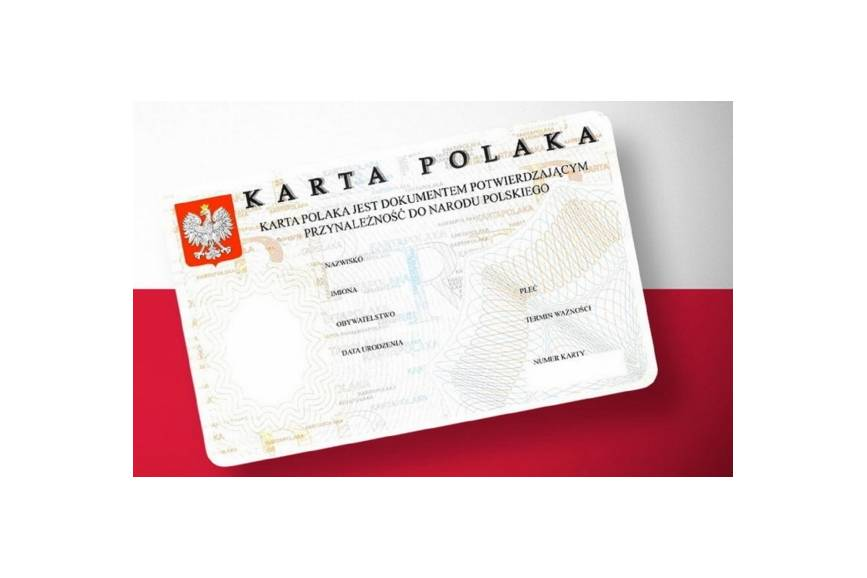 Wzór Karty Polaka. Fot. ARC