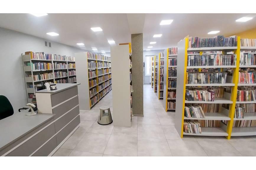 Biblioteka w Skoczowie. Fot: BM w Skoczowie