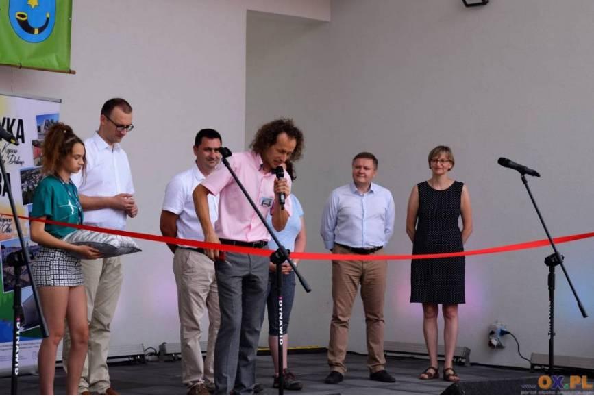 Uroczyste otwarcie nowej sceny w Zamarskach / fot. SK