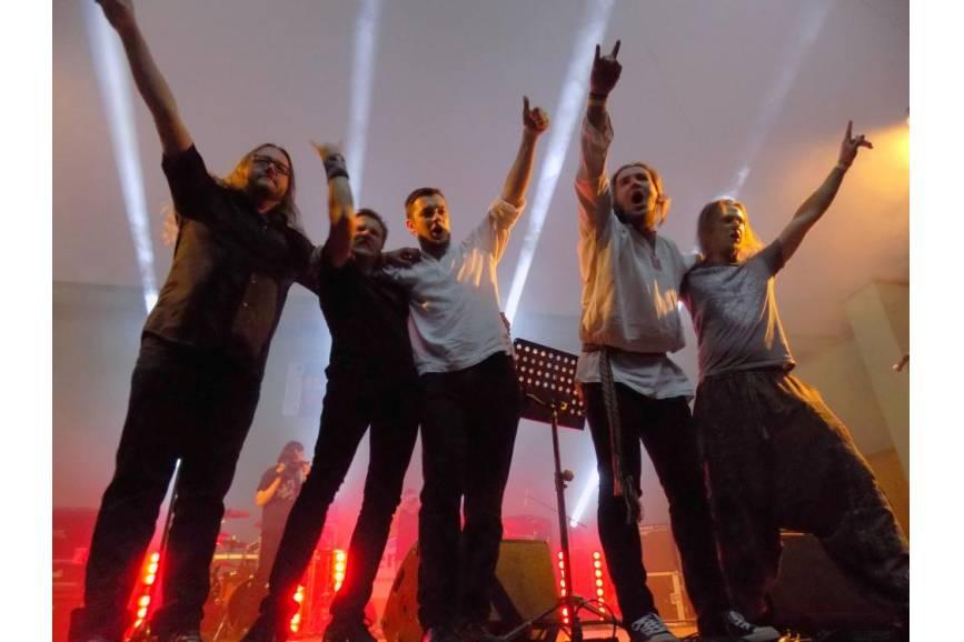 Od lewej: Marian Kolondra, Marcin Tatar, Łukasz Muschiol, Jan Musioł, Rafał Bujok / fot. KR/ox.pl