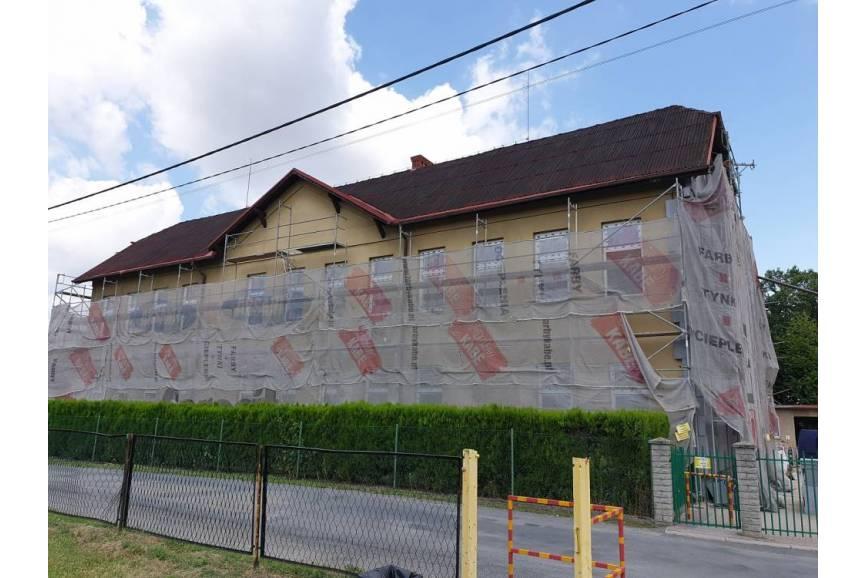 remontowana szkoła/ arc.ox.pl