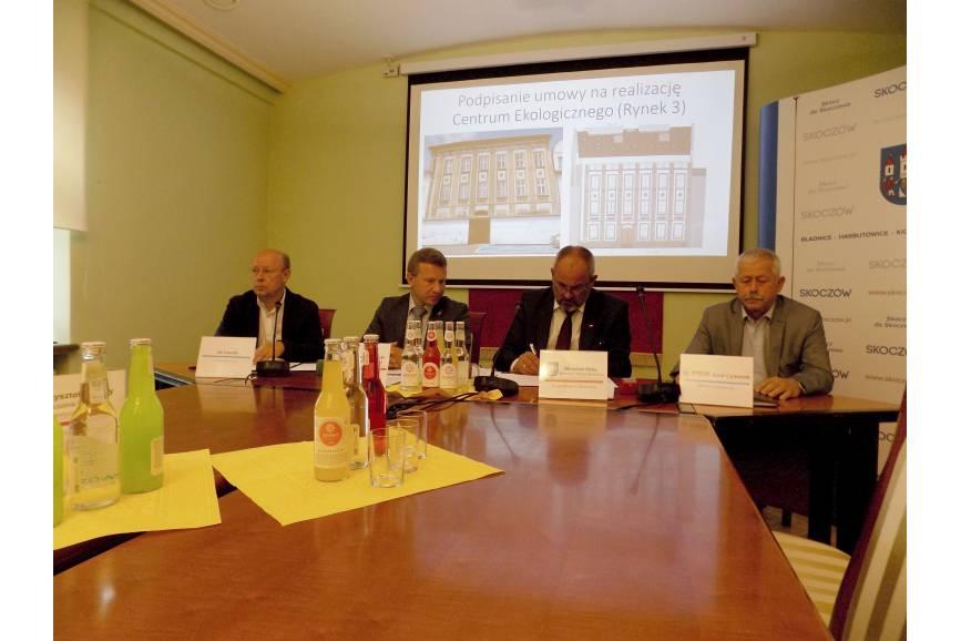 Od lewej: Jan Laszuk, Andrzej Bubnicki, Mirosław Sitko, Emil Cymorek / fot. KR/ox.pl