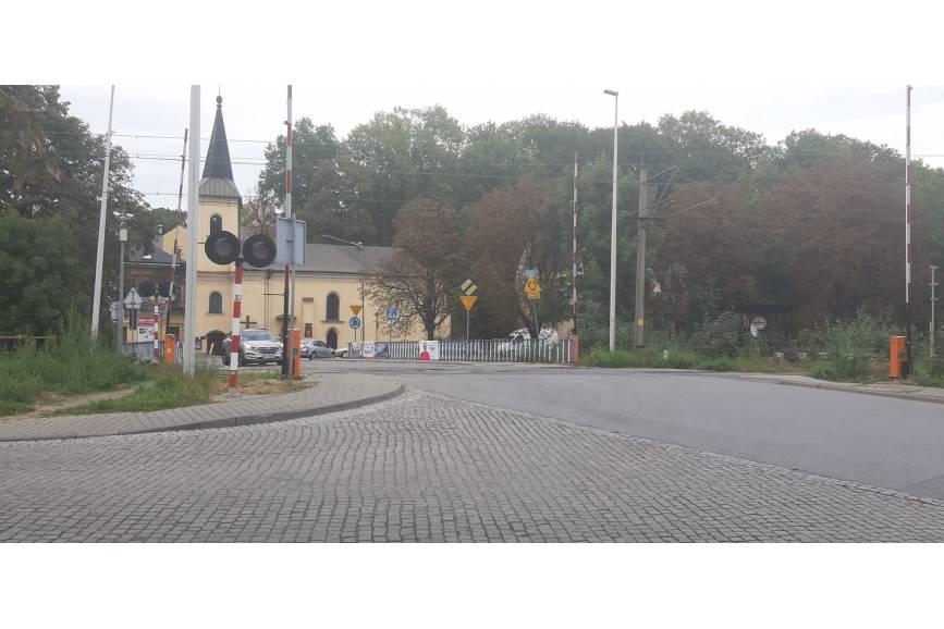 przejazd na ulicy Zamkowej w Cieszynie/ fot. JŚ