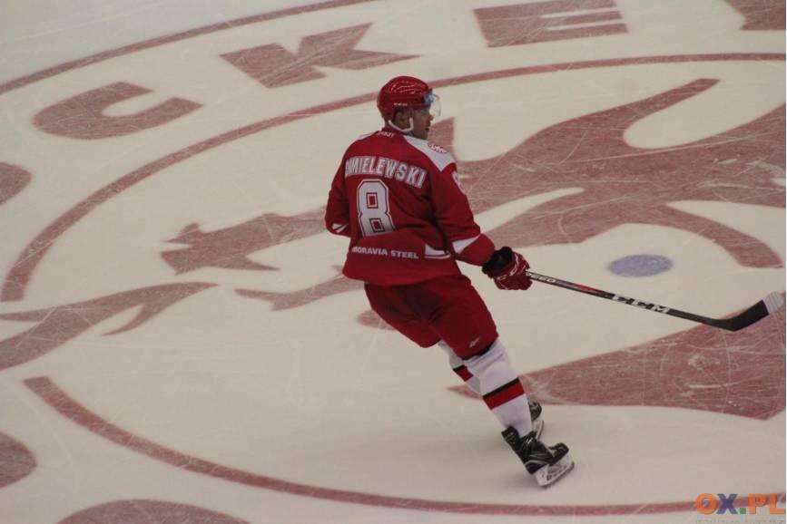 Aron Chmielewski zdobył pierwszą bramkę w tym sezonie, fot. AP