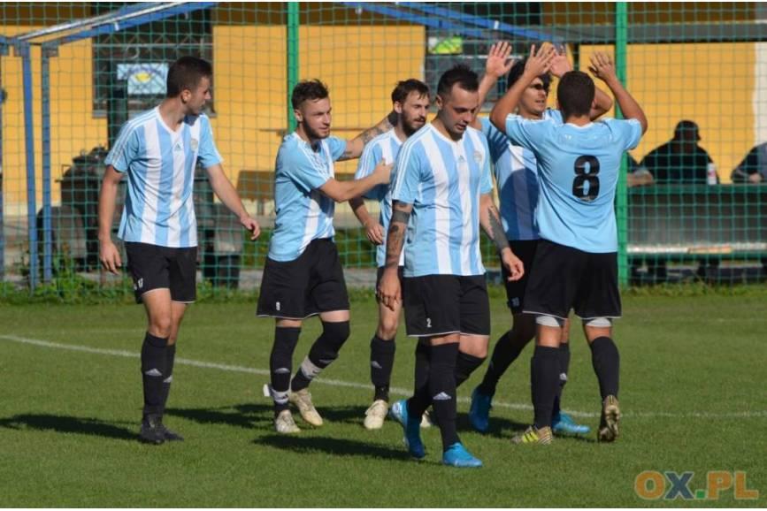 Piłkarze Pogórza, w rundzie jesiennej, odnieśli w 13 spotkaniach aż 12 zwycięstw, fot. Piotr Górecki
