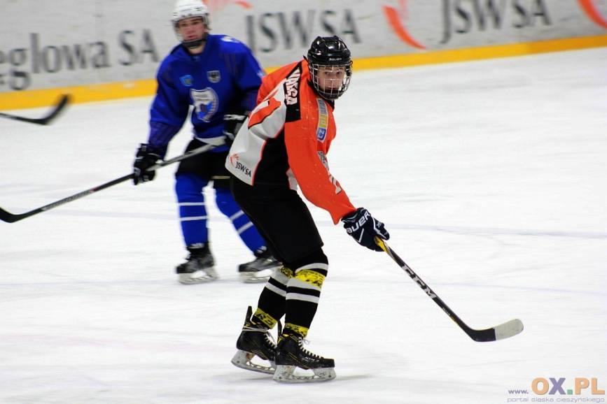 Kamil Wałęga (na zdj.), który na co dzień występuje w JKH GKS, zajął drugie miejsce w punktacji kanadyjskiej, fot. PL