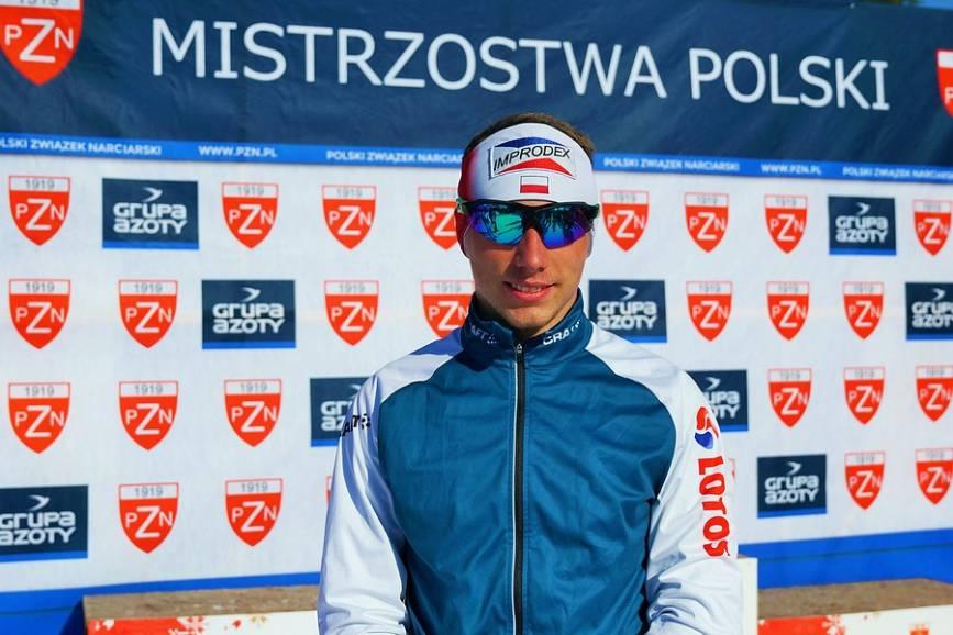 Dominik Bury sięgnął po pucharowe punkty w czterech etapach Tour de Ski, fot. PZN/A. Karczewska